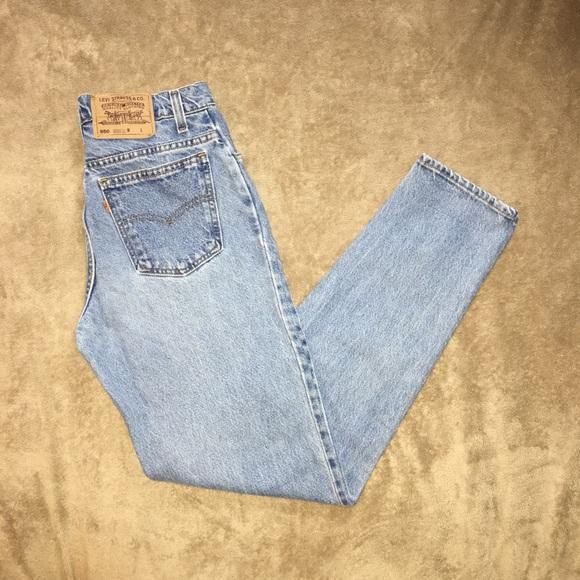 Levi's Denim - Vintage Levi's 950 high waisted mom jeans